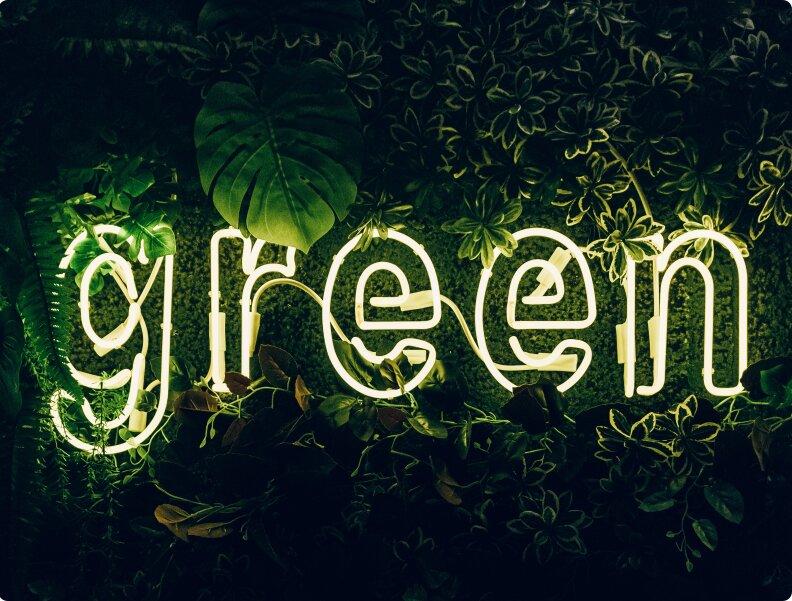 Ahorro por ser una empresa verde